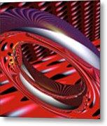 Space Trilogy Metal Print