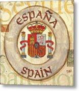 Spain Coat Of Arms Metal Print by Debbie DeWitt