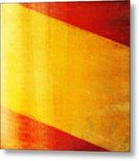 Spain Flag Metal Print by Setsiri Silapasuwanchai