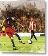 Spain Spanish Super Cup Metal Print