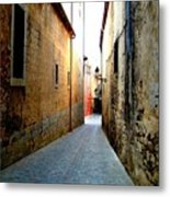 Spanish Alley Metal Print