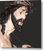 Spanish Christ Metal Print