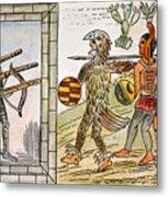 Spanish Conquest, 1520 Metal Print
