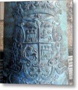 Spanish Crest 1764 Metal Print