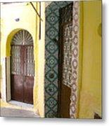 Spanish Doors Metal Print