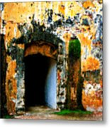 Spanish Fort Doorway Metal Print
