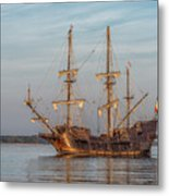 Spanish Galleon Metal Print