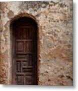 Spanish Mission Doorway Metal Print
