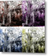 Spanish Moss Beauty Of Color Metal Print