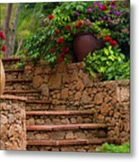 Spanish Retreat Metal Print