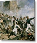 Spanish Uprising Against Napoleon In Spain Metal Print