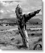 Spanish Valley Indian Metal Print