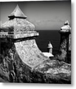 Spanish View Metal Print