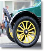 Spare Tire Metal Print
