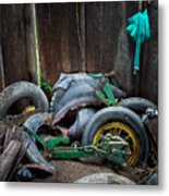 Spare Tires A-plenty Metal Print