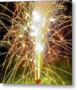 Spark Of The Fountain Metal Print