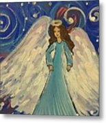Sparkle Angel Metal Print