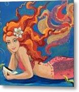 Sparkle Mermaid Metal Print