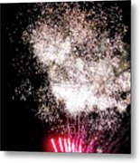 Sparkles Fireworks Metal Print