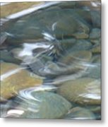 Sparkling Water On Rocky Creek 1 Metal Print