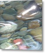 Sparkling Water On Rocky Creek 2 Metal Print