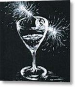 Sparkling Wine  Metal Print