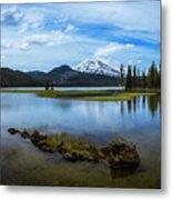 Sparks Lake, Oregon Metal Print