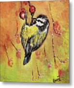 Sparrow - Bird Metal Print