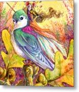 Sparrow's Song Metal Print