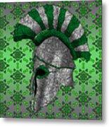 Spartan Helmet Metal Print