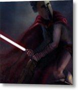Spartan Jedi Metal Print