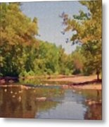 Spavinaw Creek Metal Print