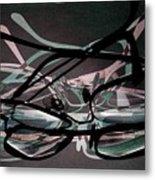 Spectacles 2 Metal Print