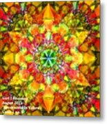 Spectracalia In Yellow Catus 1 No. 3 H A Metal Print