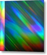 Spectral Curtain Metal Print