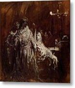Spectrum Appearance Of Banquo Metal Print