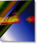 Spectrum Of Roses Metal Print
