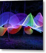Spectrum Trees Metal Print