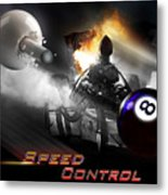 Speedcontrol Metal Print