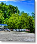 Speedway Diner Metal Print