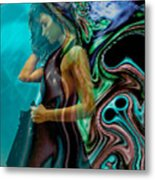 Spell Of A Woman Metal Print