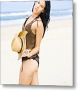 Spellbound Beach Beauty Metal Print