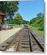 Spencer Railroad Station 2 Metal Print