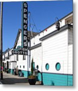 Spengers Restaurant Berkeley California Metal Print