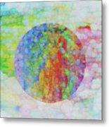 Sphere Metal Print