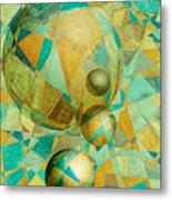Spheres Of Life's Changes Metal Print