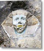 Sphinx - Rock Sculpture Metal Print