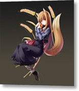 Spice And Wolf Metal Print