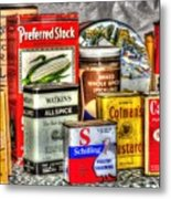 Spices 764 Metal Print