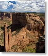 Spider Rock Canyon De Chelly Metal Print